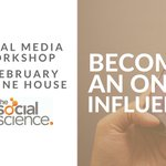 Build a deeper understanding of #socialmedia & learn the skills to become a thought leader in the fields of medical research & healthcare at our Becoming an Online Influencer workshop with @StartupShelley. To book https://t.co/c4raGbxIfv
