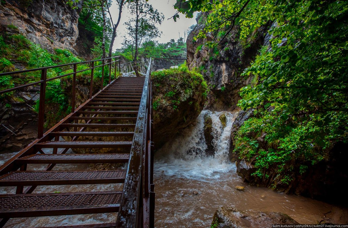 медовые водопады в кисловодске фото можно как обычным