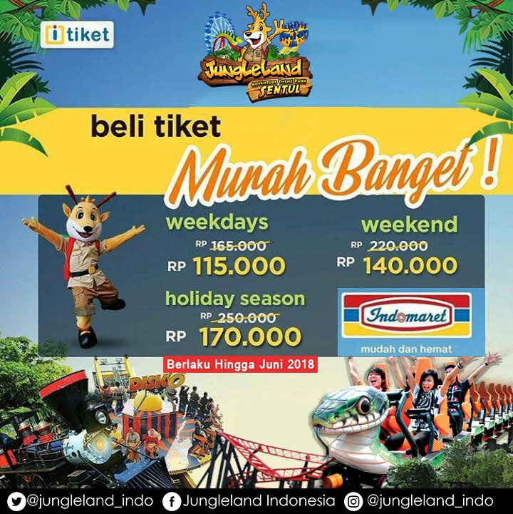 Jungleland Themepark On Twitter Beli Tiket Jungleland Di Indomaret