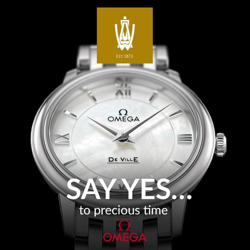 SAY Yes - To precious time... View our OMEGA Watches range instore now