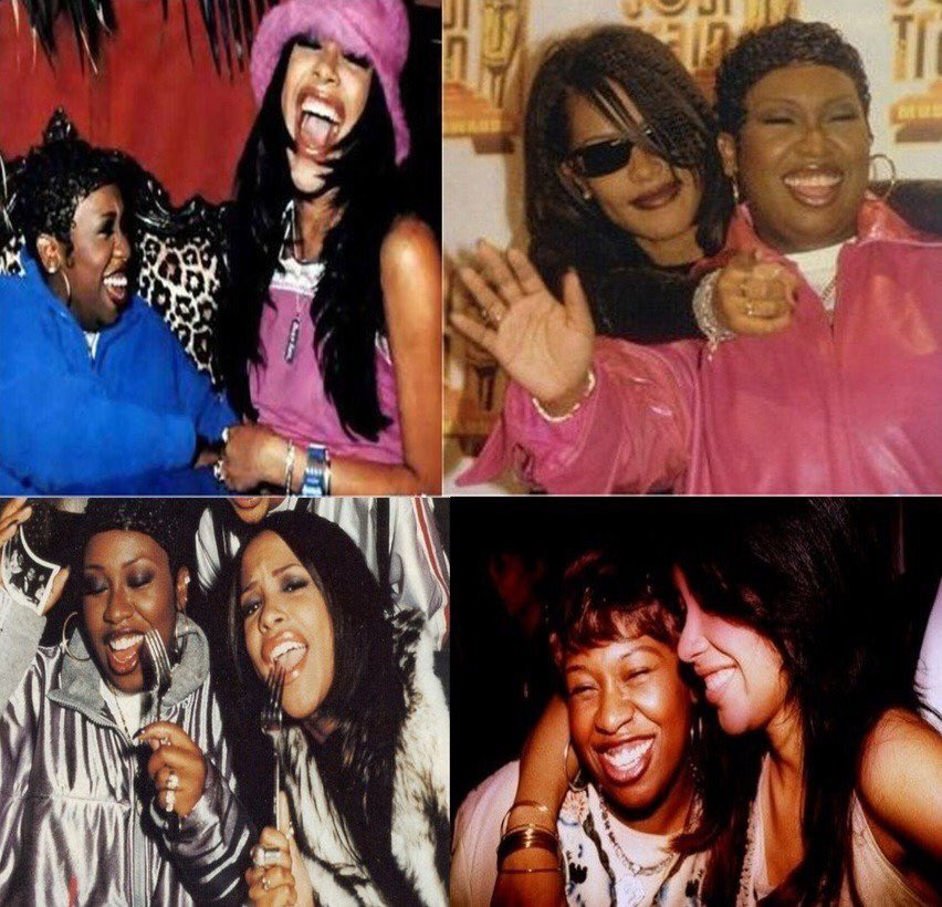 Aaliyah so many people ❤️ your Style & Music! I wish they all got a chance to meet you to see how CARING you were to EVERYONE you met! I CAN STILL HEAR YOU LAUGH & me you  joking😌we MISS YOU so much but I know you are surrounded by ANGELS 4 your BDAY😇🎂🍰 WE LOVE U