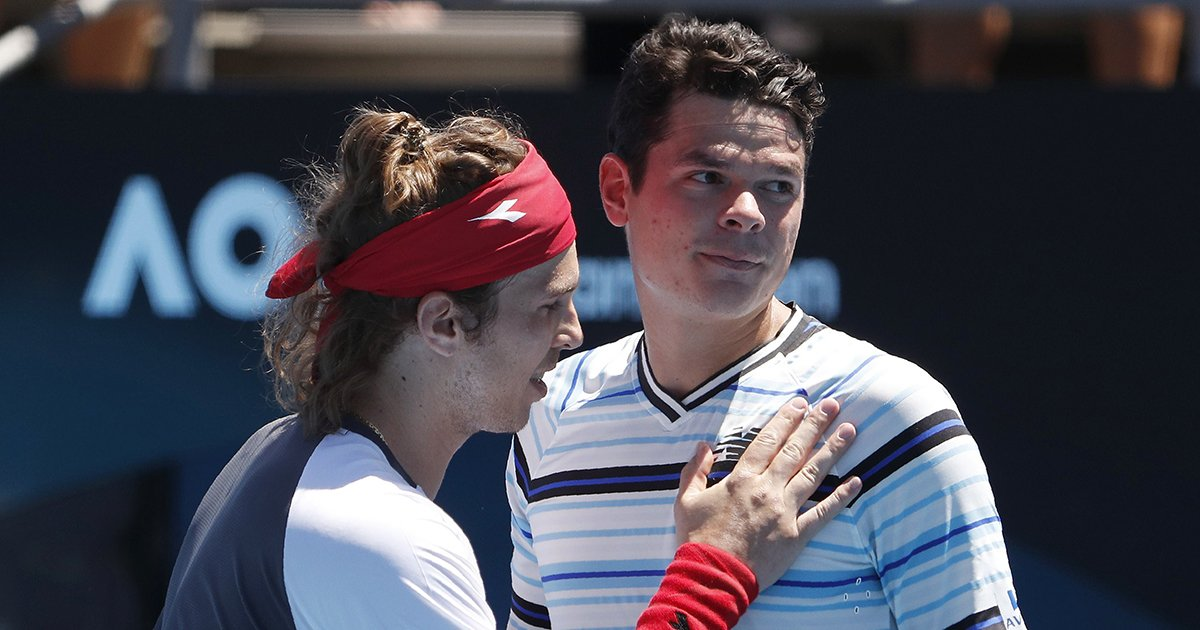 Milos Raonic ousted in 1st round, earlie...