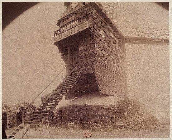 Moulin de Montmartre      Paris 1845 htt...