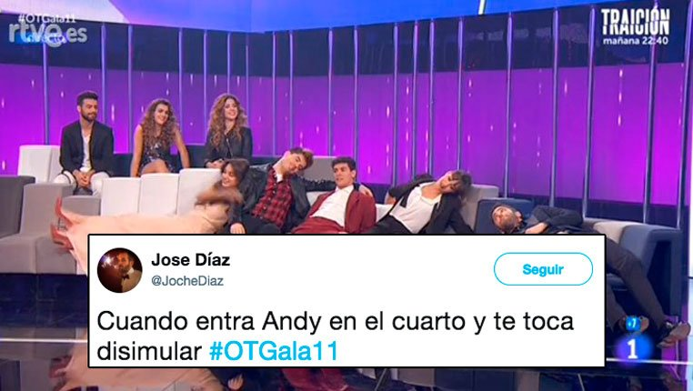 Los mejores tuits de la gala 11 de Operación Triunfo https://t.co/mQjXAFeeOH https://t.co/r3oxpkSbHI