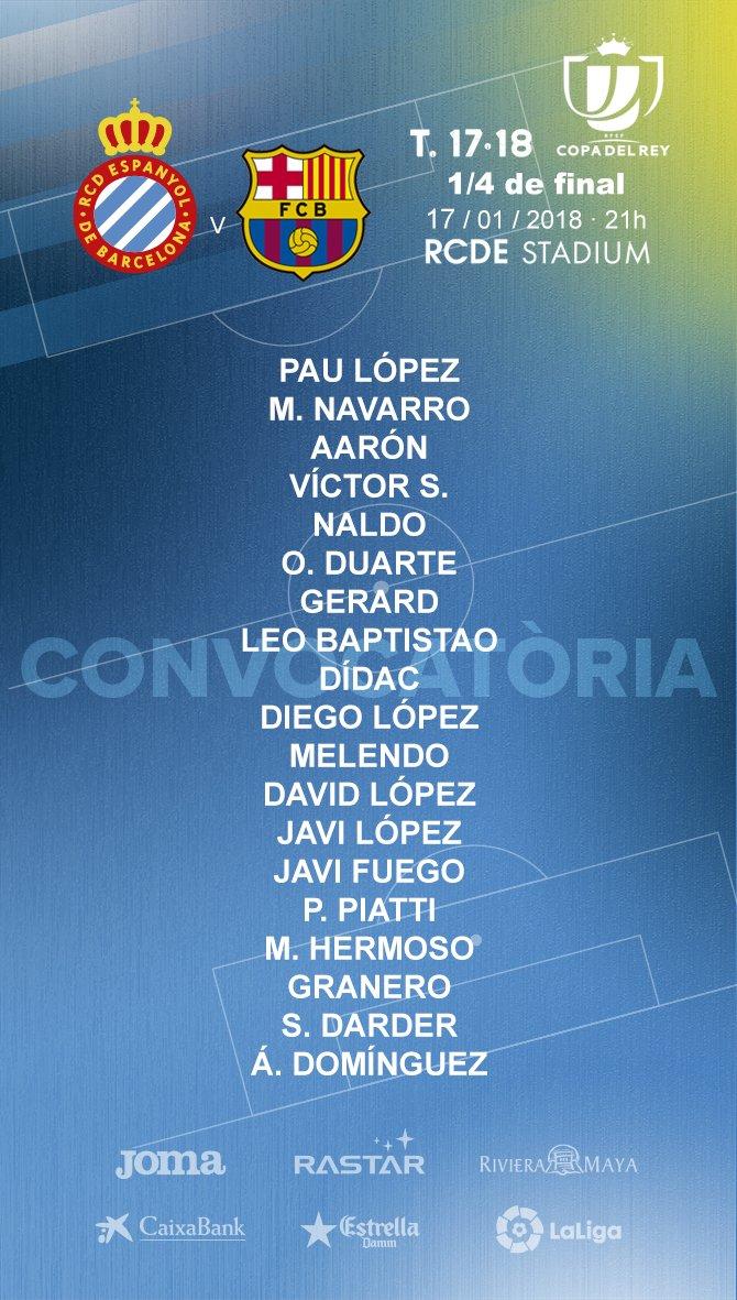 DTqK93dXUAEnJqk Sergio García y Jurado fuera de la lista para recibir al Barça en Copa - Comunio-Biwenger
