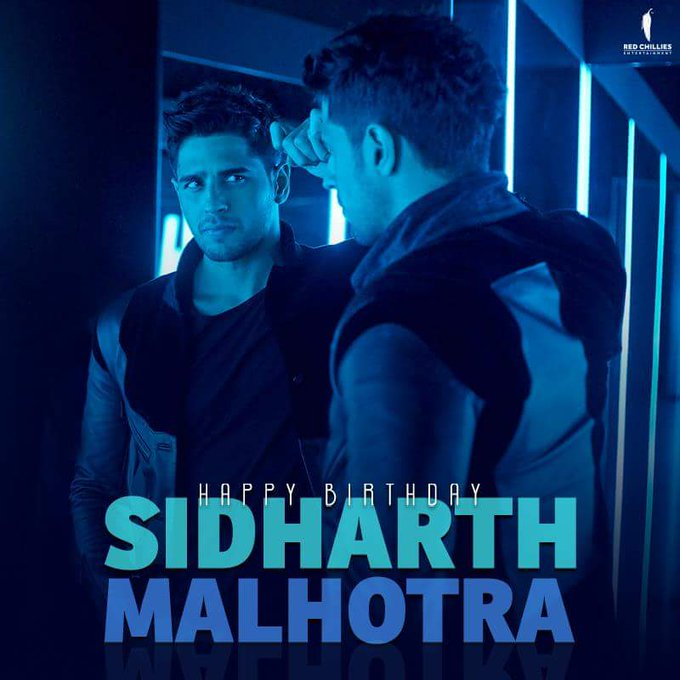 Here s wishing the charming and handsome Sidharth Malhotra, a very Happy Birthday!
