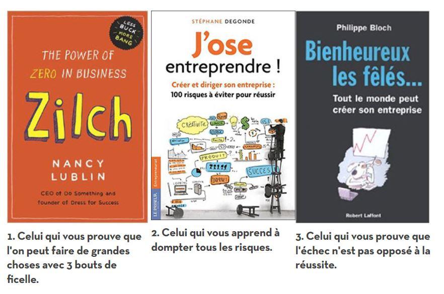 Monter sa #boite : @My_Little_Paris conseille 3 livres pour vous pousser à faire le grand saut ! #entreprendre #startup #LancerSonProjet…