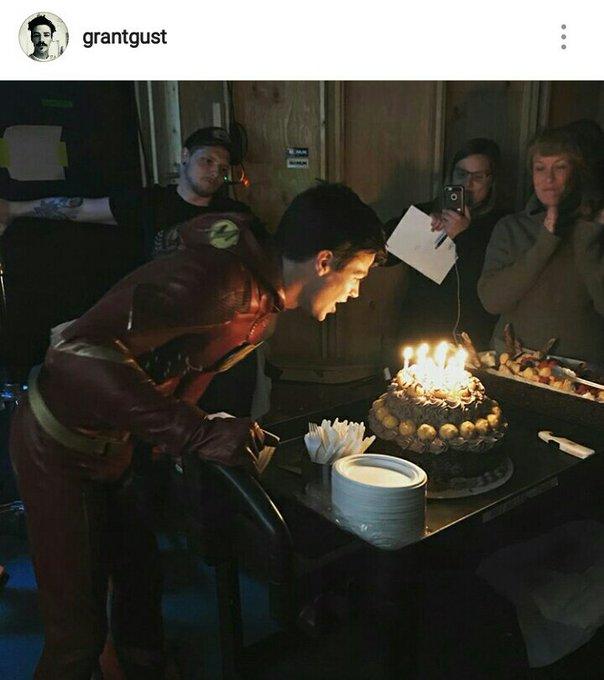 GG                         Happy Birthday, Grant Gustin!                     LA