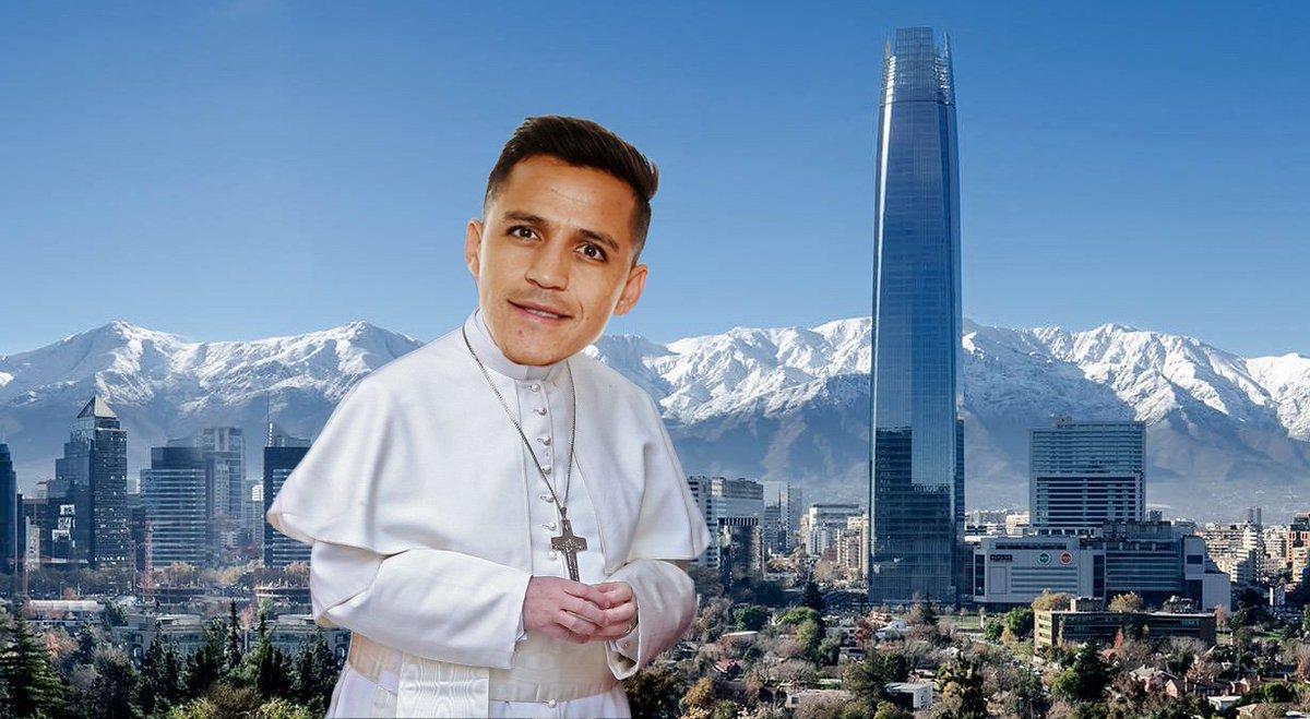El Papa se fusiona con Alexis Sanchez pa...
