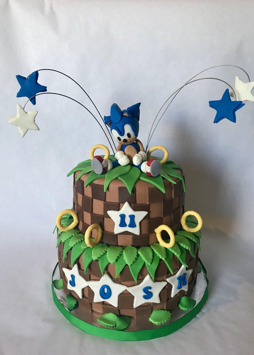 Enjoyable Fairy Tale Cakes On Twitter Sonic Birthday Cake Chocolate Cake Personalised Birthday Cards Xaembasilily Jamesorg