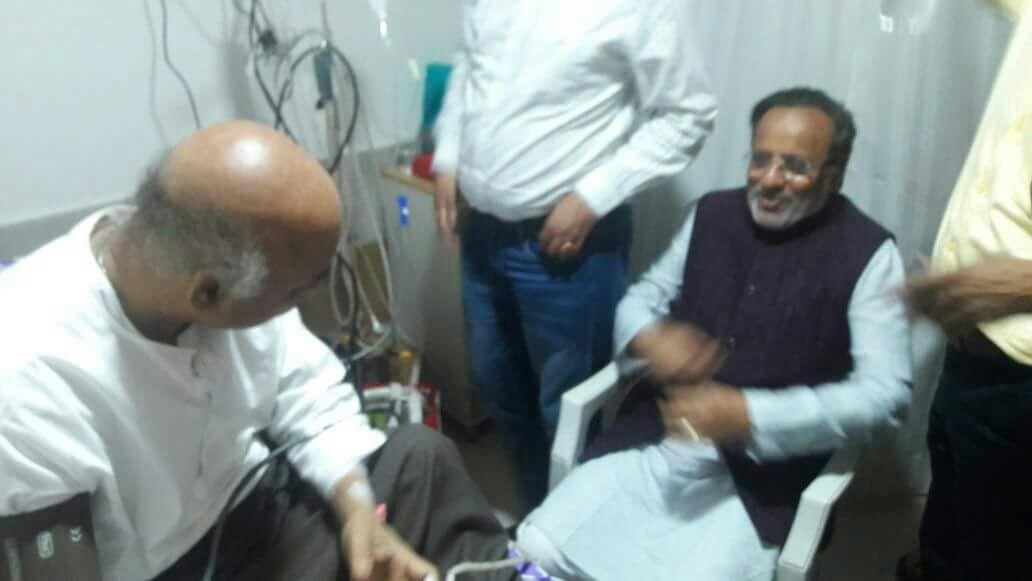 Congress leader Modhwadia, Congress backed PAAS leader Hardik Patel visit Togadia