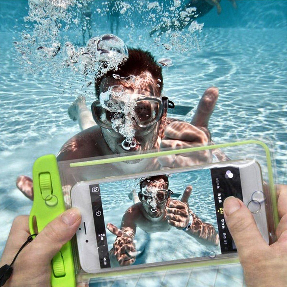 как делать фото под водой с телефона перво-князя даже создали