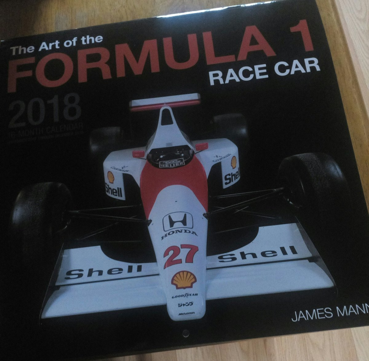 #F1 Calendar finally arrived 👌 great pic...