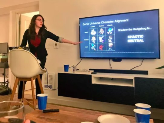 People are loving these photos from a party where every guest has to do a 3-minute powerpoint presentation https://t.co/daUr0s04KW