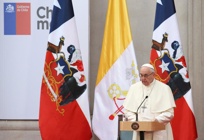 Pope expresses 'pain and shame' over Chile sex abuse scandal https://t.co/pfyRYIaog0
