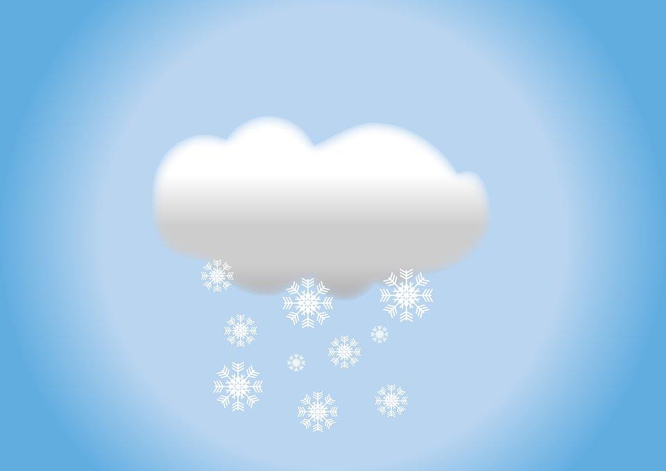 время гифка тучки со снегом картинки чистые
