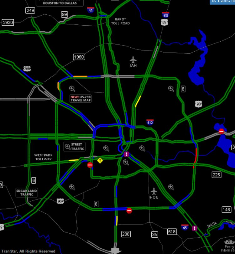 Houstontranstar On Twitter Current Houston Transtar Map May Be A
