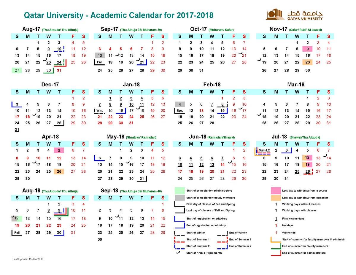 University Calendar 2020 Central Lab. Unit on Twitter: