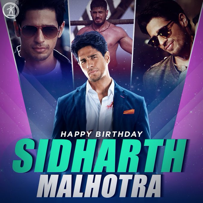 Happy Birthday To One Of The Finest Actor In Bollywood  Happy Birthday Sidharth Malhotra