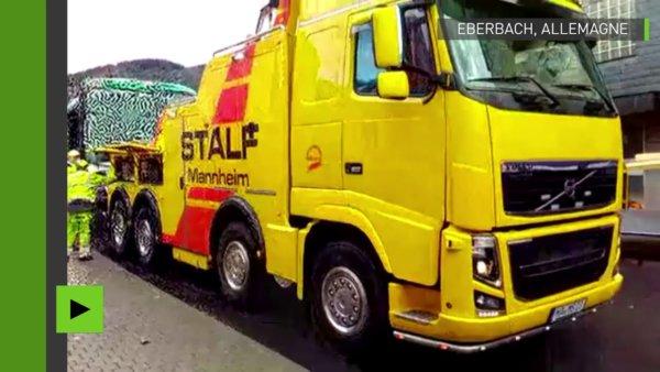Au moins 48 blessés dans l'accident d'un bus scolaire en Allemagne https://t.co/imBkPsfRMe