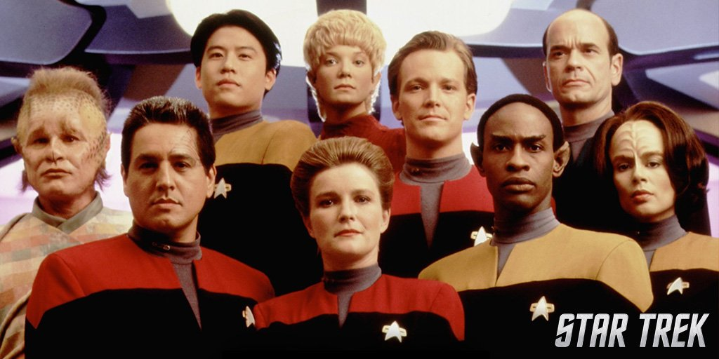 Voyager premiered 23 years ago today. @T...
