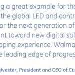 Walmart Continues Retail Energy Efficiency Leadership with 1.5 Million LED Fixtures Now Installed: https://t.co/qNW8HAHvyz