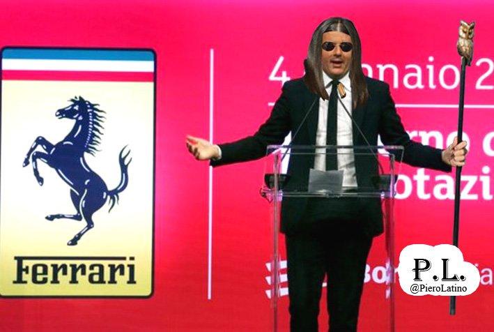 Matteo Renzi visto da Merchionne. #16Gen...