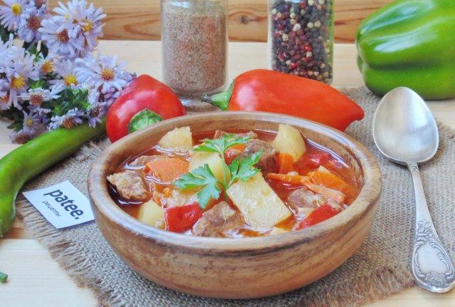 Венгерский суп-гуляш рецепт