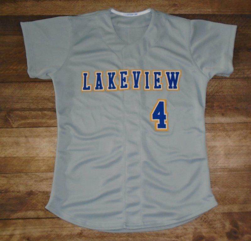 Lakeview Patriots Softball custom jerseys created at  Barcelonas1956 in  Plano e537e52b3