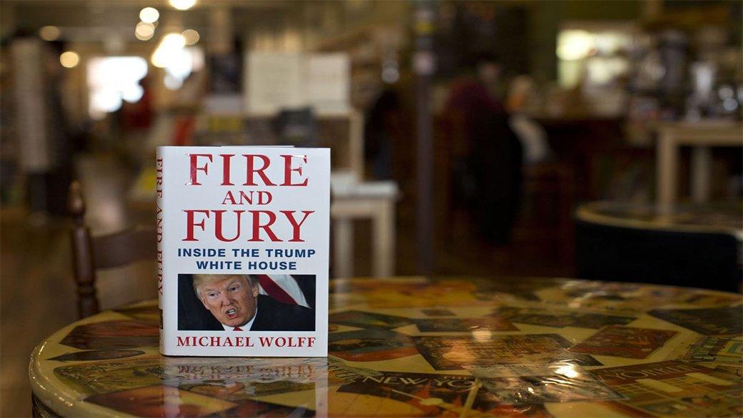 #Fire_And_Fury Inside the #Trump #white_house #Michael_Wolff #shutuptrump #DonaldTrump #nevertrustusa #down_with_usa https://t.co/zM5VuLrx7h