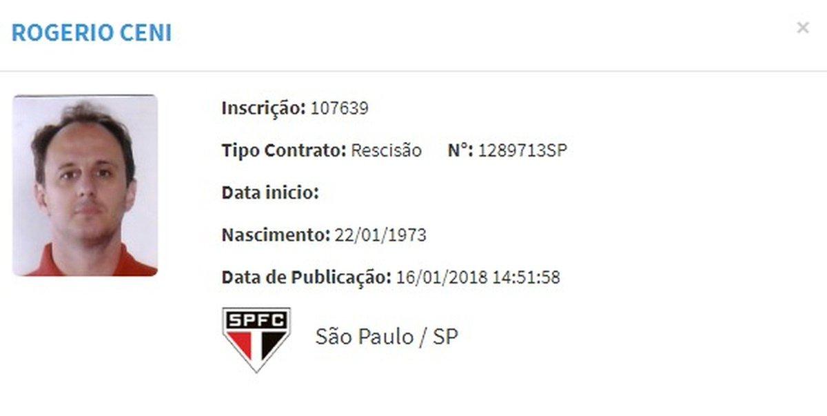 Só Rogério Ceni  todas as notícias de última hora ao vivo 90ee96a2bcec1