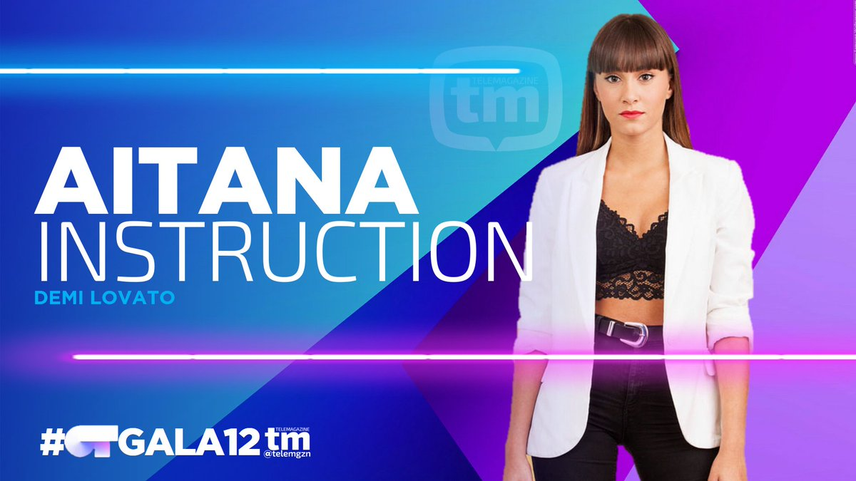 REPARTO TEMAS | #OTGala12  AITANA Instru...
