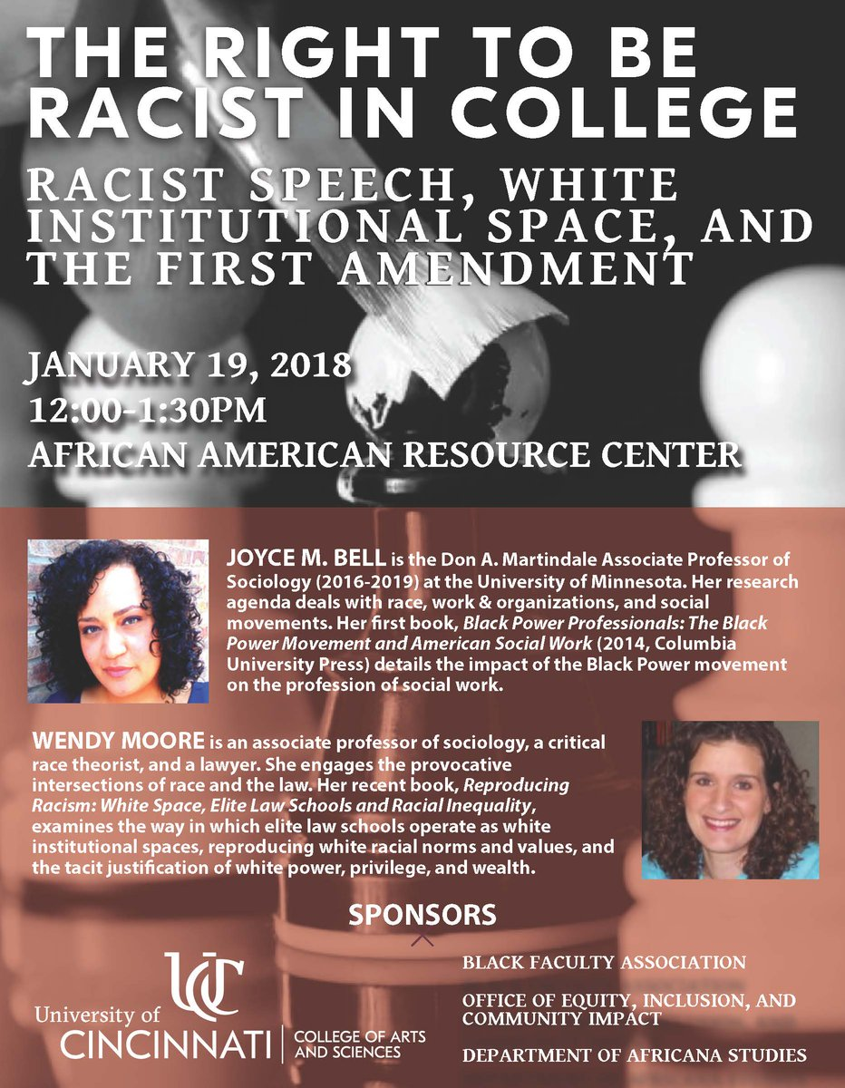 conclusions for racism speeches The consequences for racism in the workplace is massive, it includes lack of work flow, lost customers, and lawsuits racism would eliminate the efficiency of the work dynamics, as some employees may not work effectively with others so there will be a lack of the work flow.