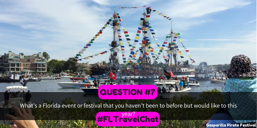 Q7. What's a Florida event or festival t...
