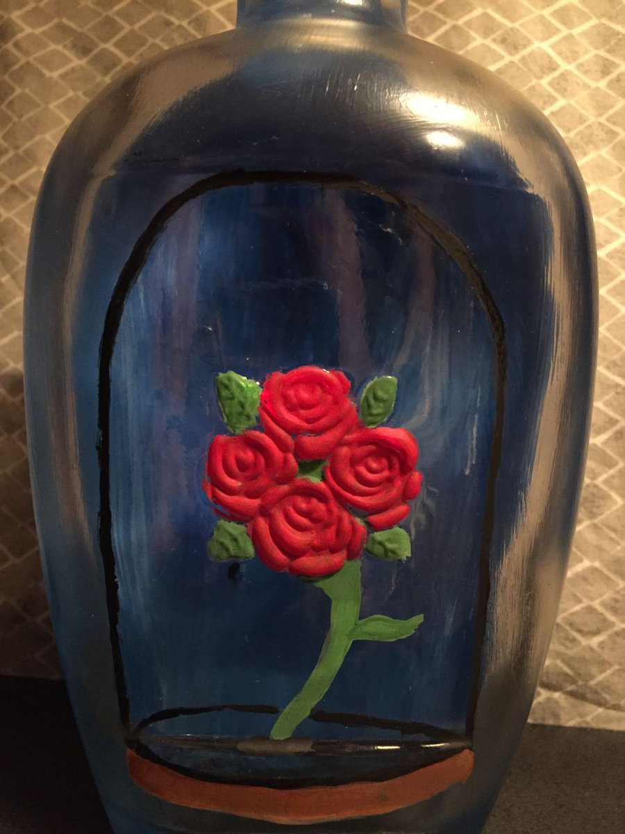 Enchantedrose hashtag on twitter beauty and the beast bottle thanks for the bottle and delicious bourbon that was once inside fourroses bourbon gigglingfox beautyandthebeast izmirmasajfo