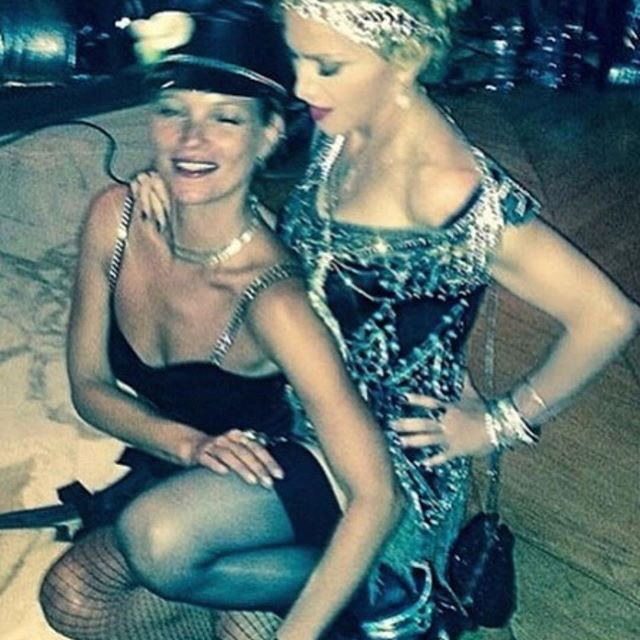 Happy Birthday Wagon!!!!   The beautiful and mischievous Kate Moss!!
