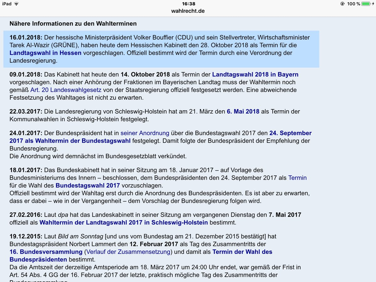 wahlrecht_de hashtag on Twitter