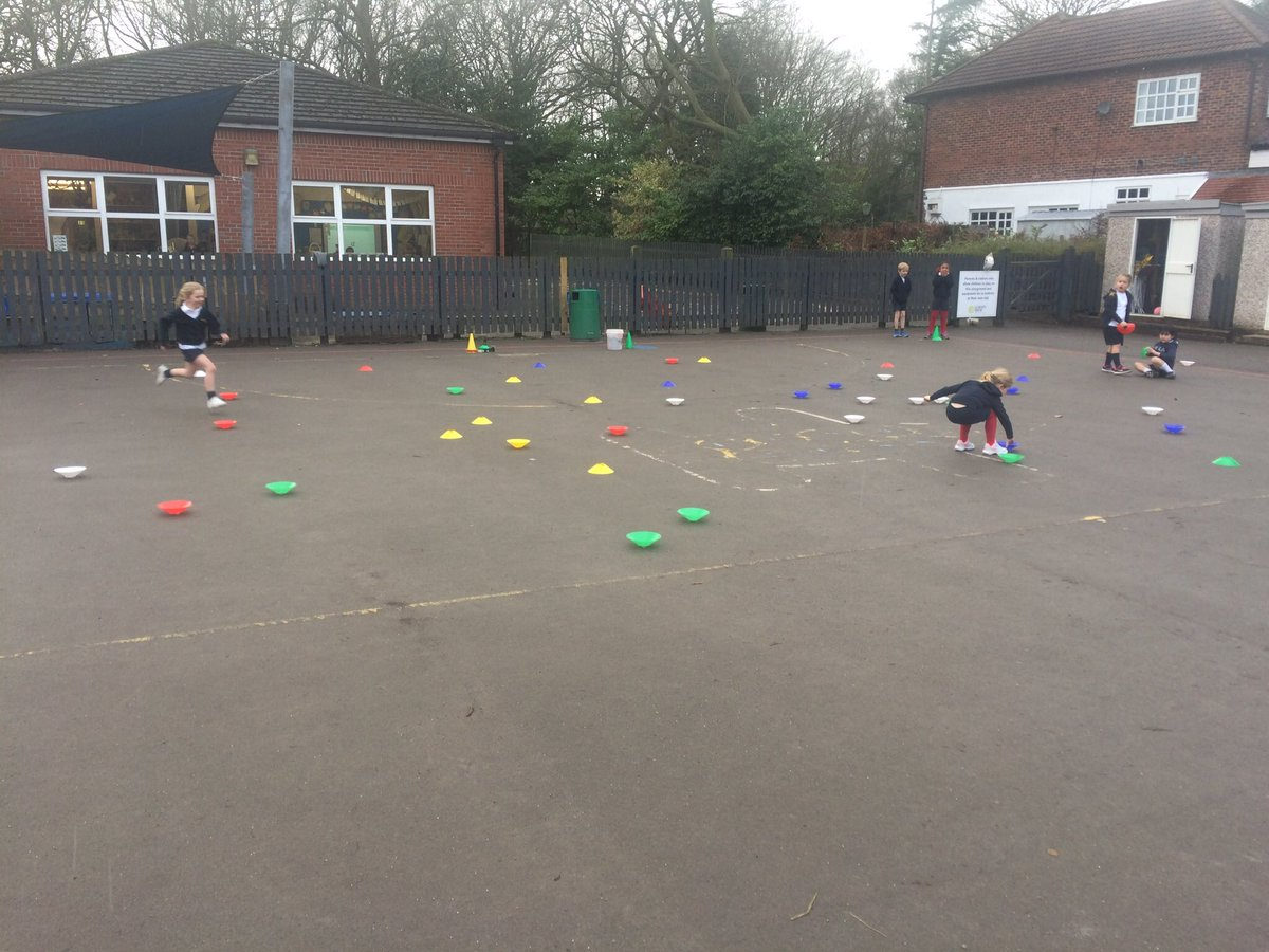 test Twitter Media - Working together in teams against the other houses to collect as many cones as possible #gorseype https://t.co/FfUclW38Te