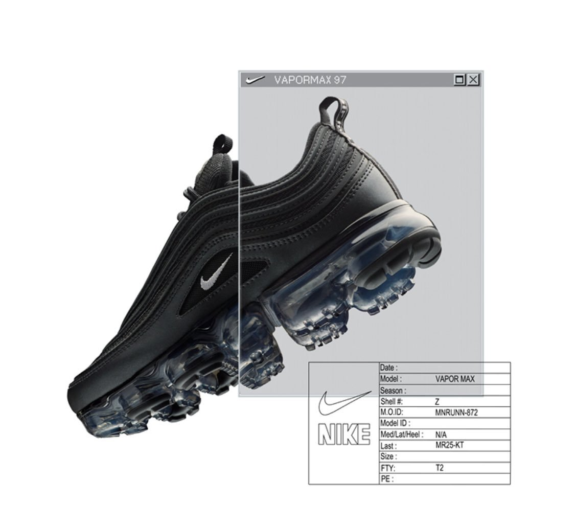 nike air max vapormax 97 black