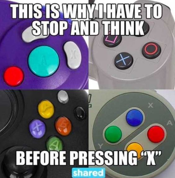 Who else has 'control' issues? 😄🎮 [Via P...