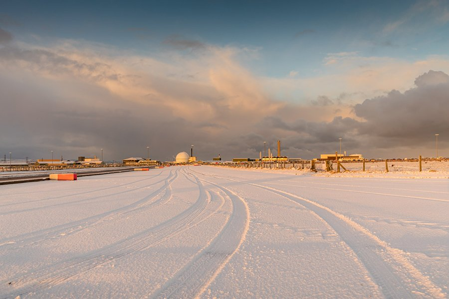 RT @dounreay: A snowy scene from a very wintry Dounreay today. #snow https://t.co/4n8edE4EV0