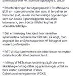 DIGITAL SPIONASJE MOT HELSE SØR-ØST - Dette vet vi etter PSTs pressekonferanse: