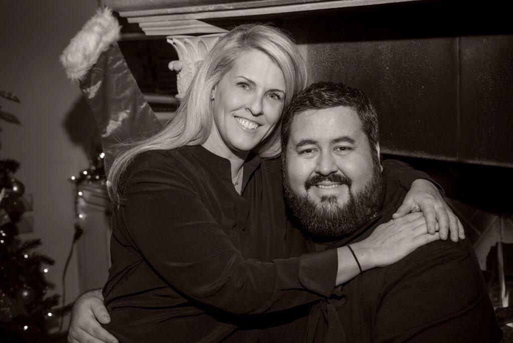 Conrad Thompson married Megan Fliehr in 2018.