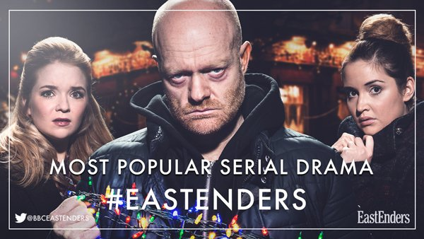 Have you voted #EastEnders Most Popular Serial Drama in this year's @OfficialNTAs?  Voting closes TODAY at noon so get involved if you haven't already!  ⭐️https://t.co/l7FtXL5C6r⭐️