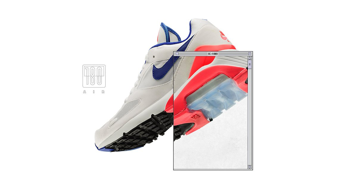 timeless design 5e1ac dd4a4 ... the return of the Air Max 180 OG in its classic