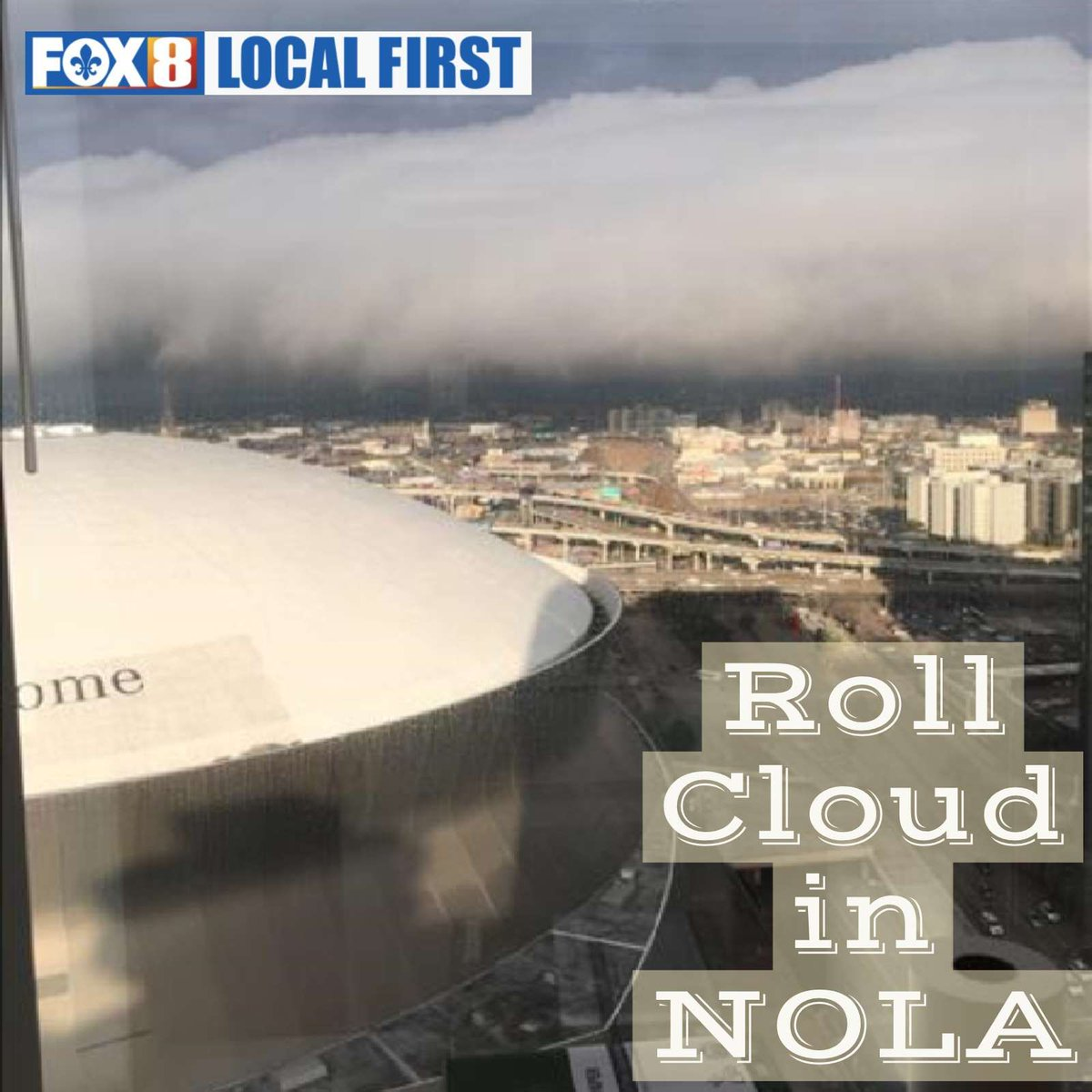 Fox 8 weather watchers send their photos of the roll cloud that