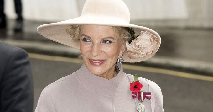 Happy Birthday to Marie Christine, HRH Princess Michael of Kent born on January 15, 1945 !