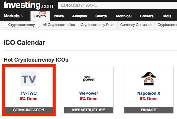 investing com all cryptocurrencies