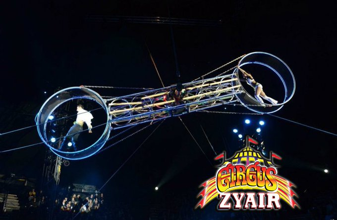 Coming soon to The Hop Farm. Circus Zyair! For info and booking visit https://t.co/O4SngYhdR3 @CircusZyair https://t.co/Z5DUKGgDbm