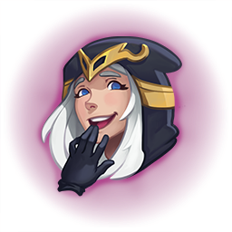 """ffSade on Twitter: """"Roommate told me that the Smug Ashe emote I ..."""